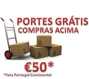Portes Grátis acima de 50€ em compras*